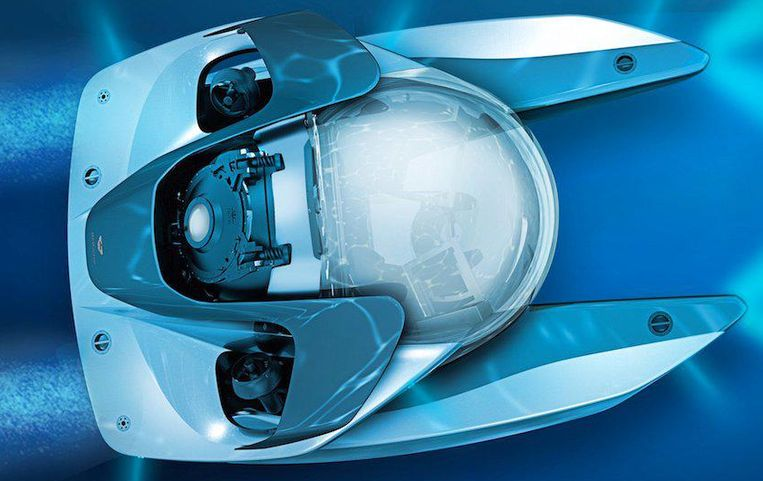 Een elegant model, noemt Aston Martin z'n nieuwste speelgoed.