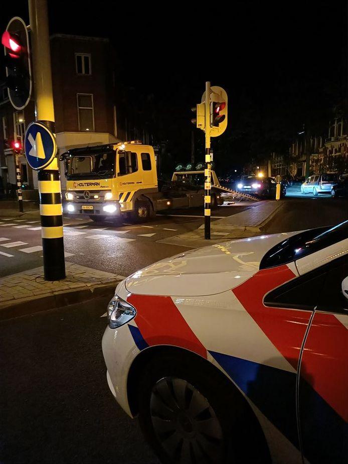 Van een automobilist is het rijbewijs ingenomen nadat hij met 150 kilometer per uur over de Graafseweg in Nijmegen reed.