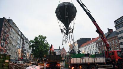 'Ballon van de Vriendschap' wordt volgende maand op nieuwe stek aan station geplaatst