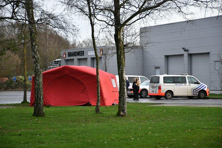 Op de terreinen van psychiatrisch centrum Bethanië in Zoersel werd een lijk gevonden.