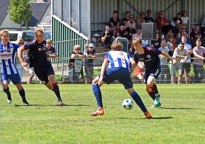 De finale van de Esad Osmanovski Memorial Cup in 2018: Heerenveen-Aarhus.