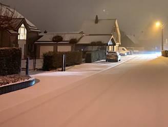 Eerste sneeuw gevallen in het oosten van België