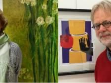 Apeldoornse kunstenaars geven werk digitaal door met kunstestafette
