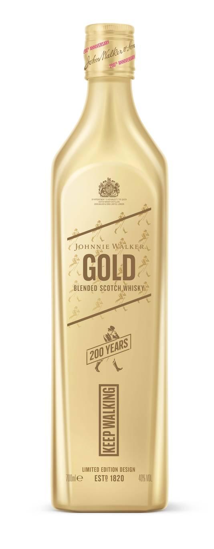 Johnnie Walker - La première marque de whisky écossais fête cette année son 200e anniversaire, un événement ponctué par le lancement d'une série de bouteilles exclusives. - Prix conseillé: 40 euros.