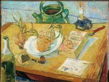 Een Van Gogh aan de muur in huize Winkel