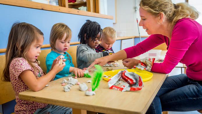 Peuterspeelzalen vallen formeel onder de kinderopvang.