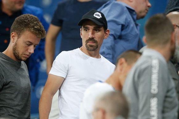 Sven Kums zat in het stadion.