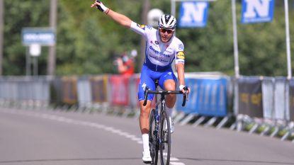 Eerste Belgische profkoers na corona, meteen raak voor Deceuninck-Quick.Step: Sénéchal soleert naar zege in GP Vermarc