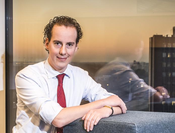 Wethouder Arjen Maathuis.