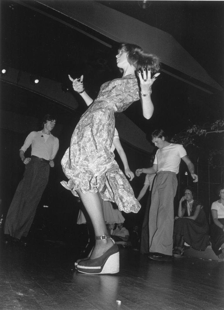 Northern Soul-dansers in 1975, in een Londense club. Beeld Redfern