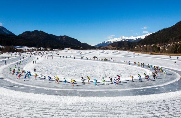 Het open NK op de Oostenrijkse Weissensee.