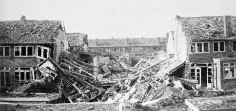 Arnhem herdenkt de 57 slachtoffers van de  'vergissingsbommen' die 75 jaar geleden vielen