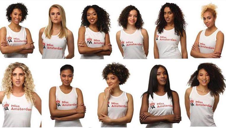 In totaal strijden er 16 dames om de titel. Beeld Raoul Neijhorst