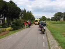 Motorrijder gewond bij botsing in Westendorp