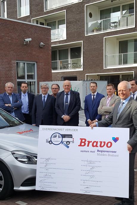 Regiotaxi verder als Regiovervoer Midden-Brabant