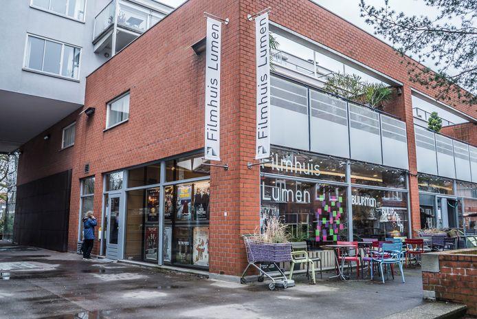 Filmhuis Lumen is nu nog gevestigd op het Doelenplein.