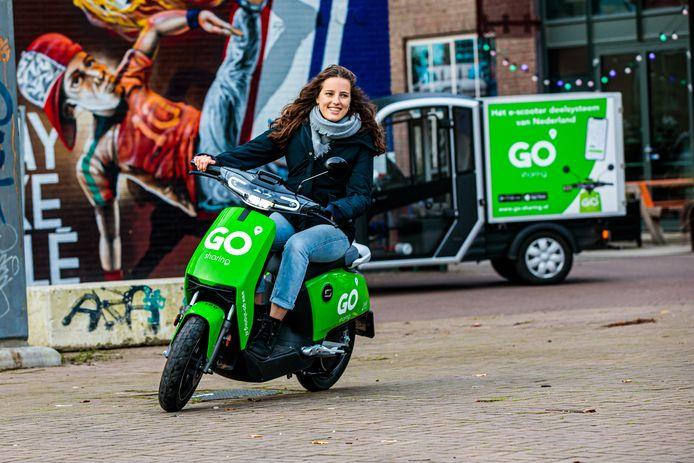De scooter wint mede terrein dankzij deelscooters van bedrijven als Go Sharing en Felyx