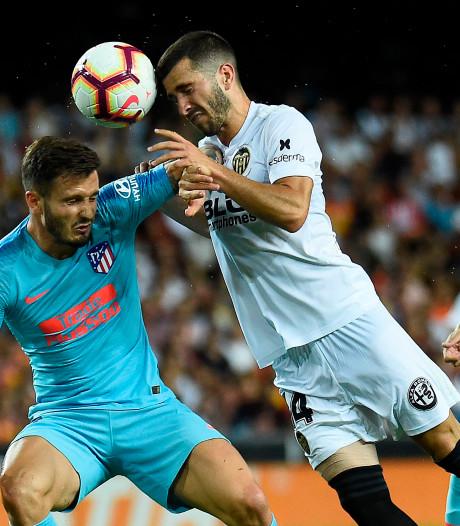 Atlético opent seizoen met gelijkspel bij Valencia