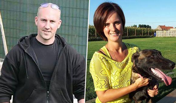 Links: Daniel Deriemacker, rechts: zijn vrouw Carmen Garcia Ortega. Uit de autopsie bleek dat het slachtoffer negen messteken in de hartstreek en vier oppervlakkige messteken in de hals had gekregen. Door meerdere schoppen tegen het hoofd had ze onder andere ook schedelbreuken en een neusbreuk opgelopen.