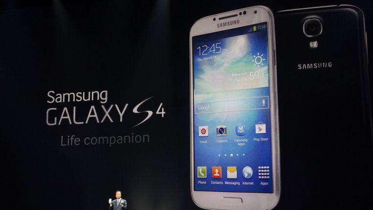 De nieuwe Samsung Galaxy S4 Beeld ap