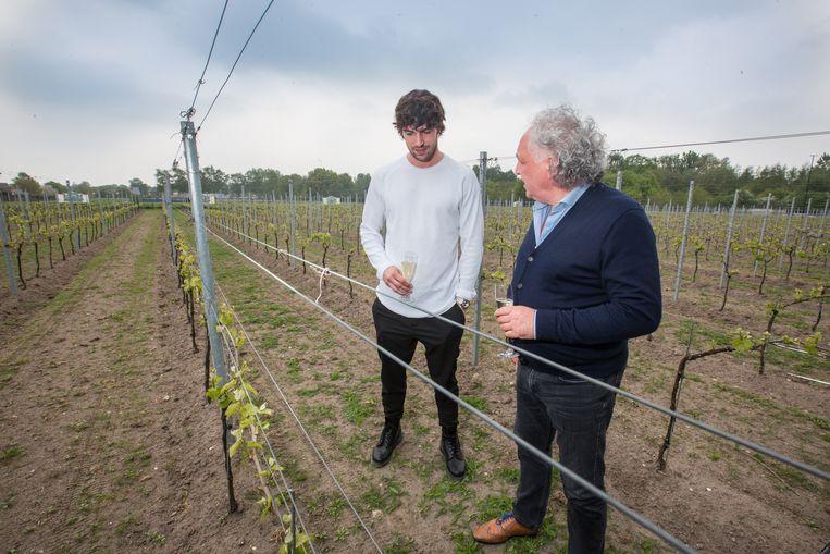 Ignazio Moser op bezoek bij L'uno coll'Altro in Peer