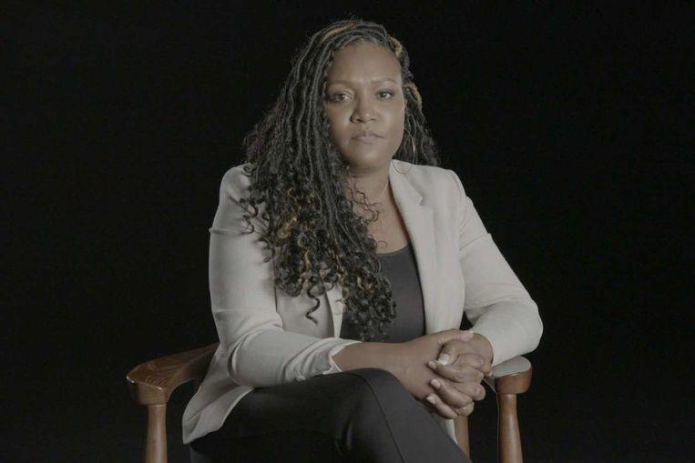 Tiffany Hawkins in de documentaire 'Surviving R. Kelly Part II'