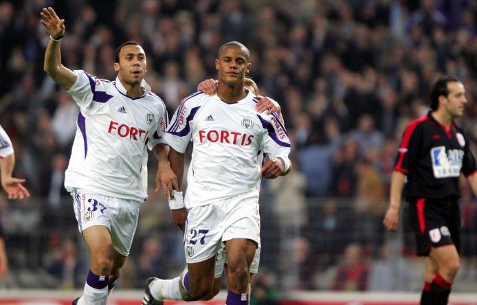 22 avril 2005: la seule victoire et le seul but de Vincent Kompany contre le Standard.
