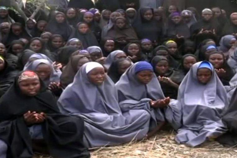 Boko Haram ontvoerde eerder dit jaar 275 vrouwen in Chibok, ook in de deelstaat Borno. Beeld afp
