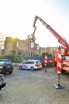 Brand in woning Nuenen na werkzaamheden aan het dak