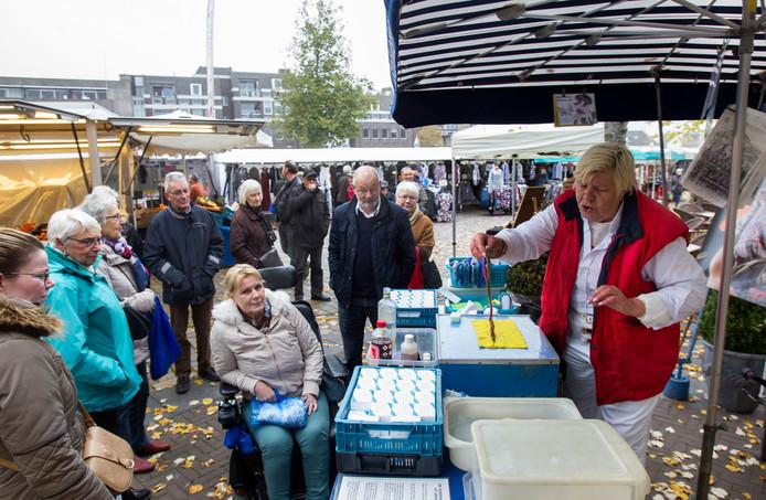 Weekmarkt in Valkenswaard (archieffoto).