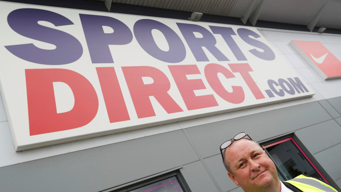 Mike Ashley, fondateur de Sports Direct