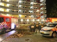 Gaslek op bovenste verdieping flat Schipholplein