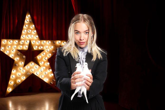 Beau Potman uit Meppel moest zaterdag in de halve finale van het tv-programma Holland's Got Talent naar huis.