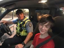 Jongen (12) vlucht voor Australische bosbranden in truck van zijn broer