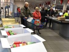 Voedselbanken in de knel doordat donaties van supermarkten teruglopen