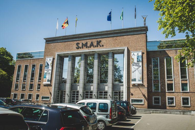 Het museum S.M.A.K. in Gent.