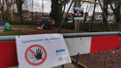 Kinderen ravotten opnieuw in de speeltuinen… maar ook daar gelden coronaregels