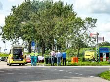 Wielrenner gewond bij botsing Loenersloot