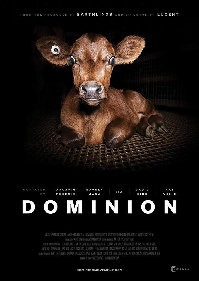 Filmposter van de Australische documentaire Dominion.