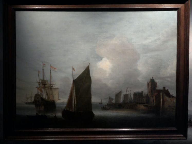 Topschilderij van Hendrick van Anthonissen naar Zierikzee