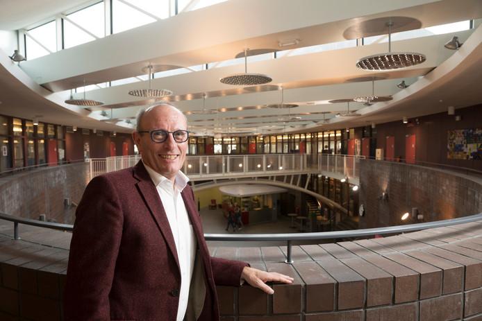 Directeur-bestuurder Jan Klein van het Nuborgh College.