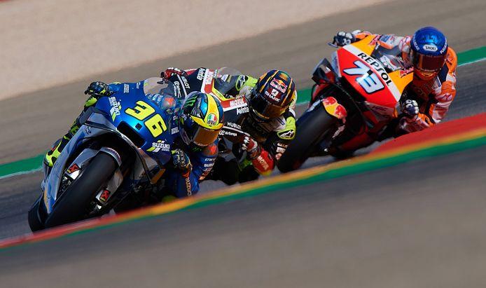 De laatste race van de MotoGP zal zonder fans verreden worden.