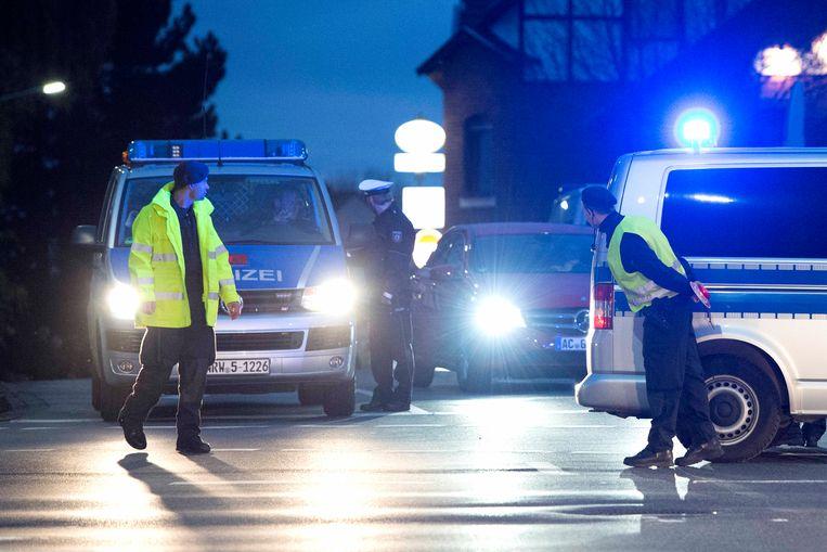 Duitse politie Beeld ANP