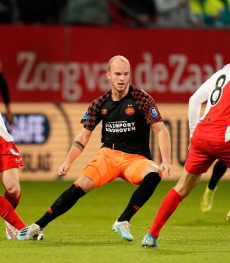 PSV geeft uit niet thuis en krijgt buts