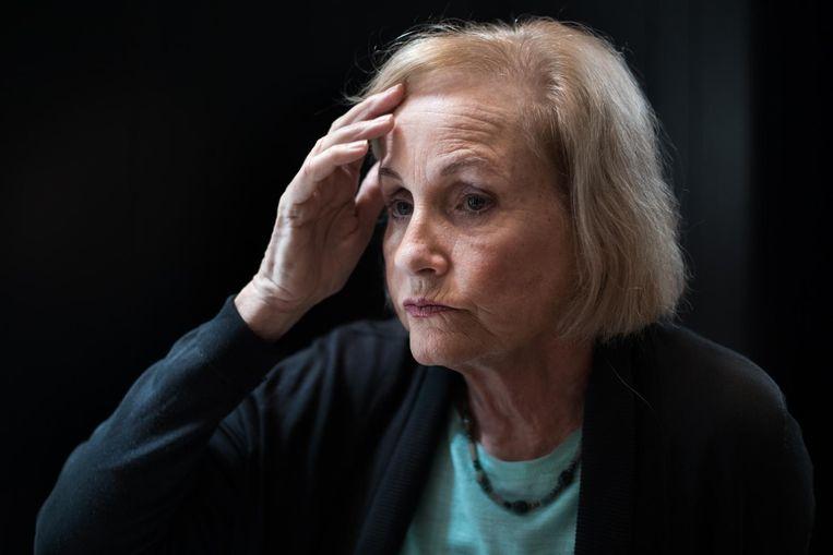 Moeder Lyn Ulbricht, die Ross onlangs moest vertellen dat zijn hoger beroep is afgewezen. Beeld Jeroen de Bakker