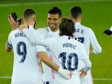 Real Madrid wint zonder besmette Zidane en blijft in het spoor van Atlético