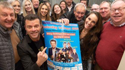 Willy Sommers top op affiche van schlagerfestival van 200-jarige harmonie Sint-Cecilia Eine