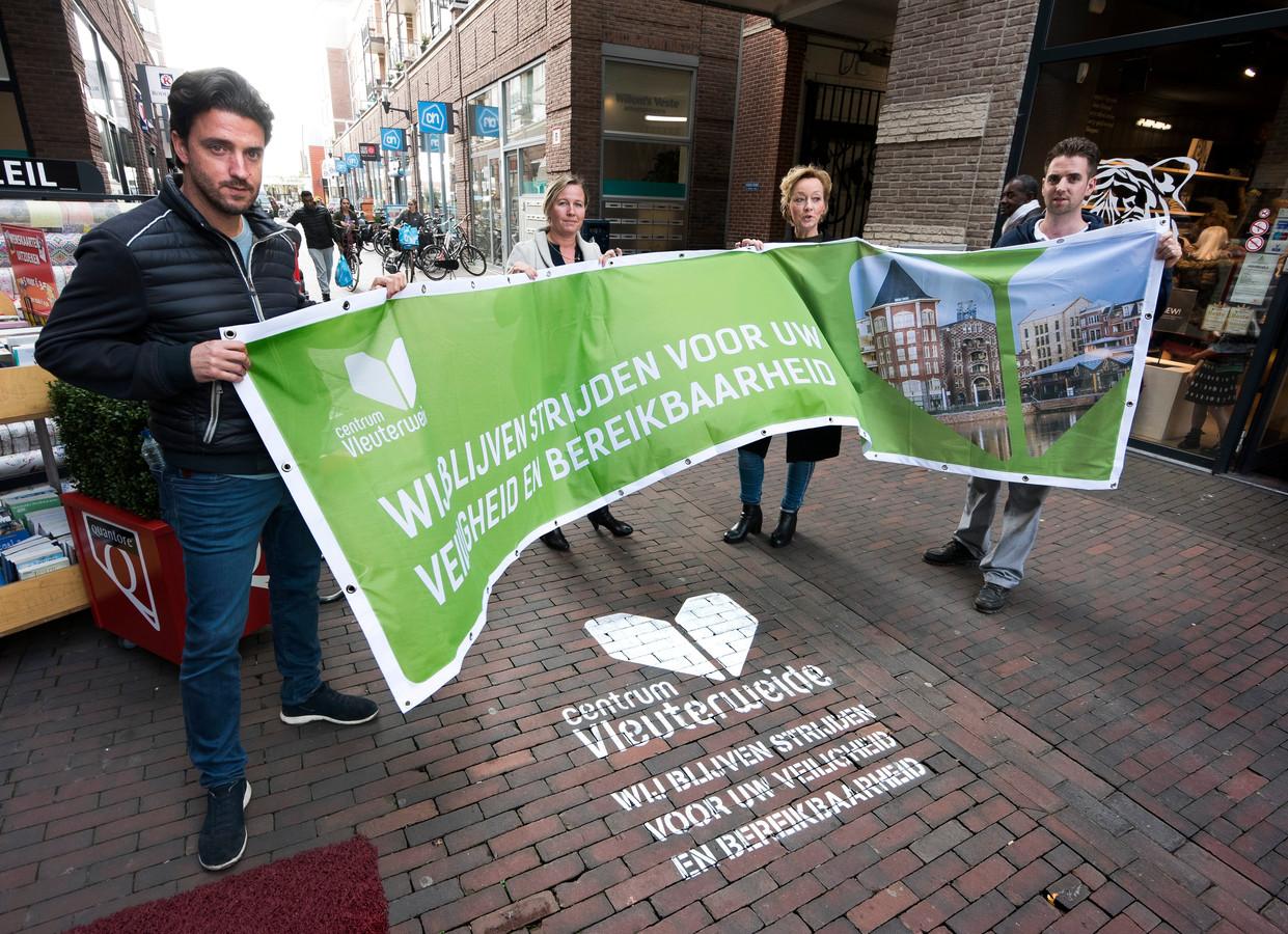 Winkeliers strijden voor een veilig en bereikbaar winkelcentrum Vleuterweide.