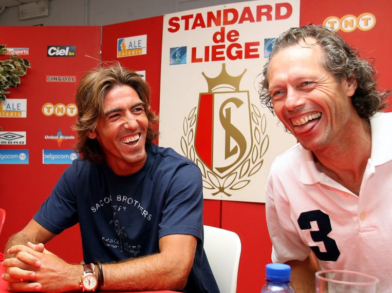 Sá Pinto en Michel Preud'homme, hier samen op archiefbeeld.