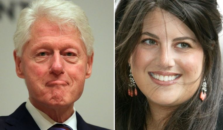 Bill Clinton en Monica Lewinsky.